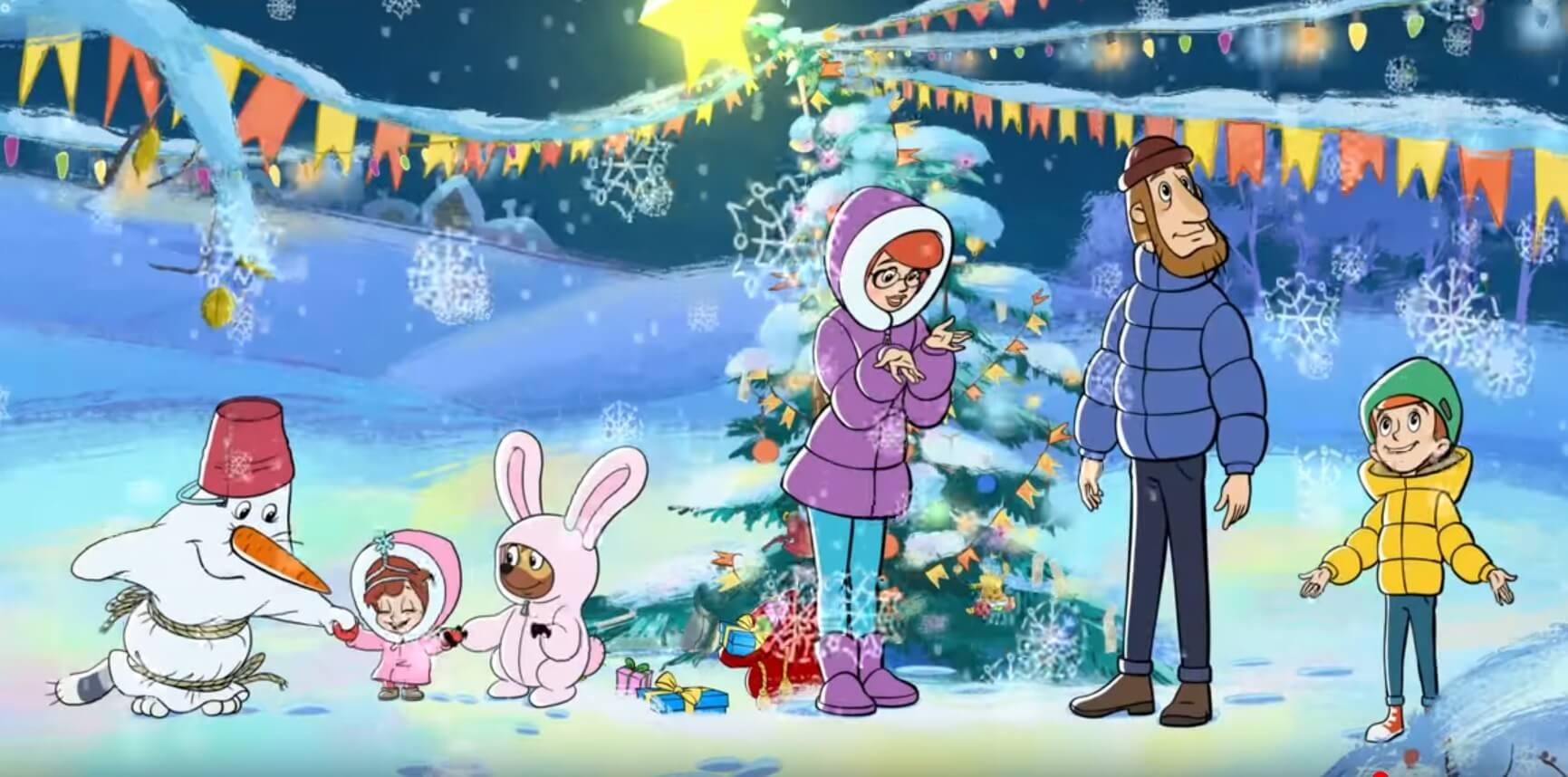 Новогодние мультфильмы