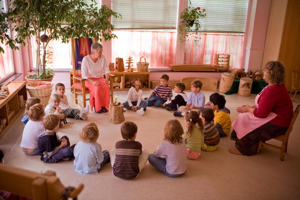 Вальдорфская педагогика в детском саду: практика, проекты