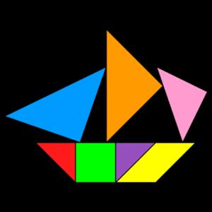 танграм кораблик 2
