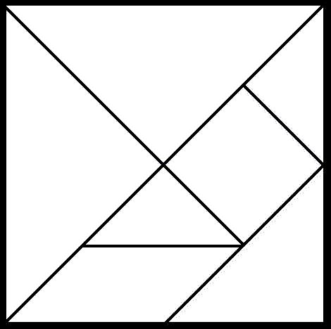 Игра Танграм для дошкольников