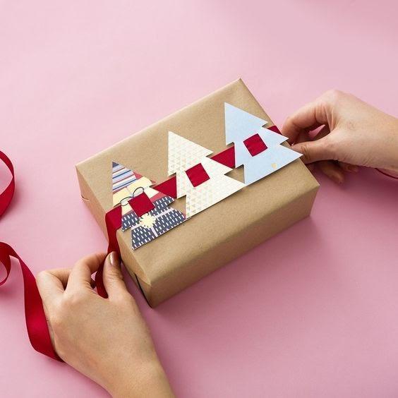 новогодняя упаковка для детей