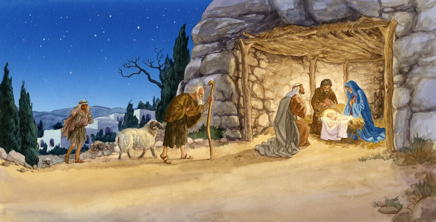 вертеп, сцена рождества Христова