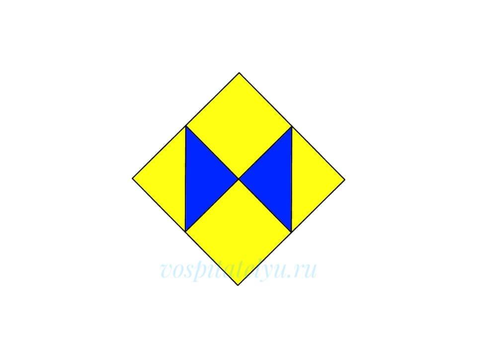Кубики Никитина. Схема Бантик