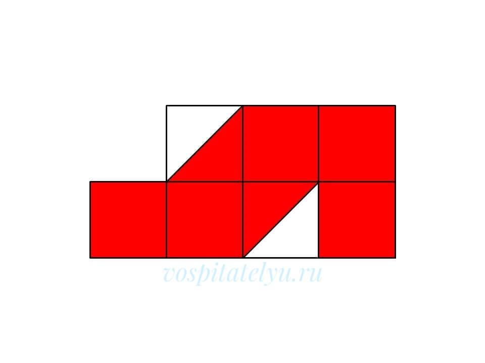 Кубики Никитина. Схема Ботинок