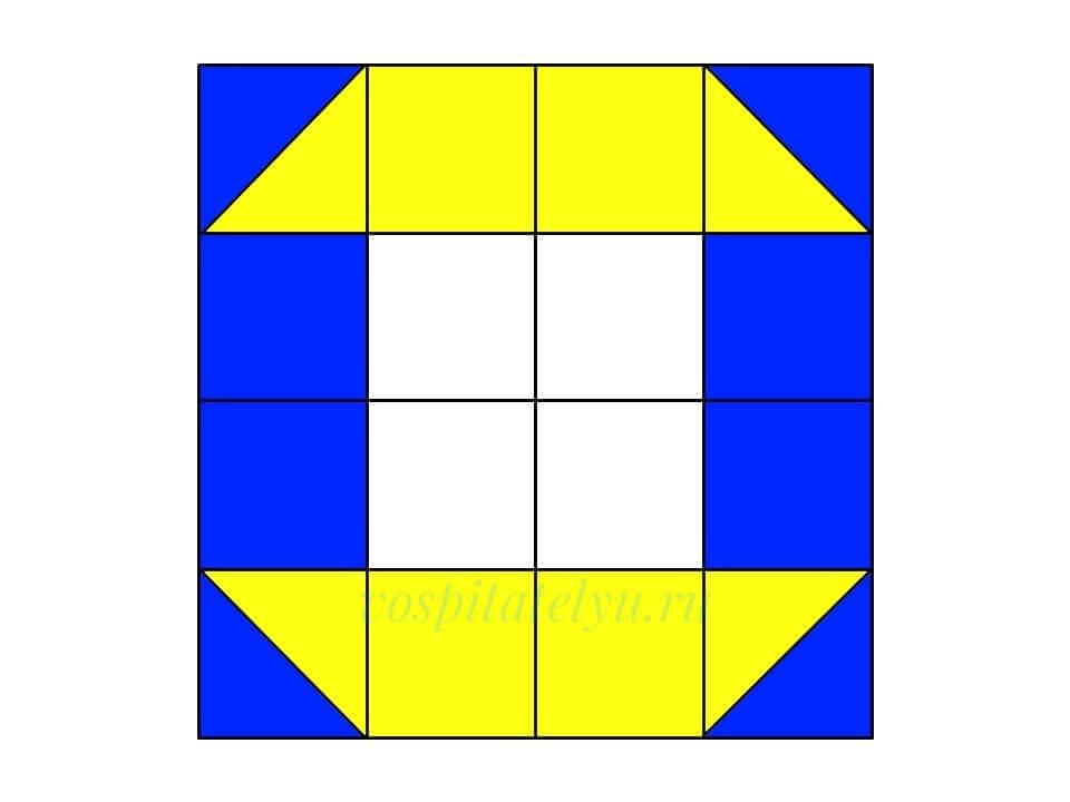 Кубики Никитина. Схема Маяк