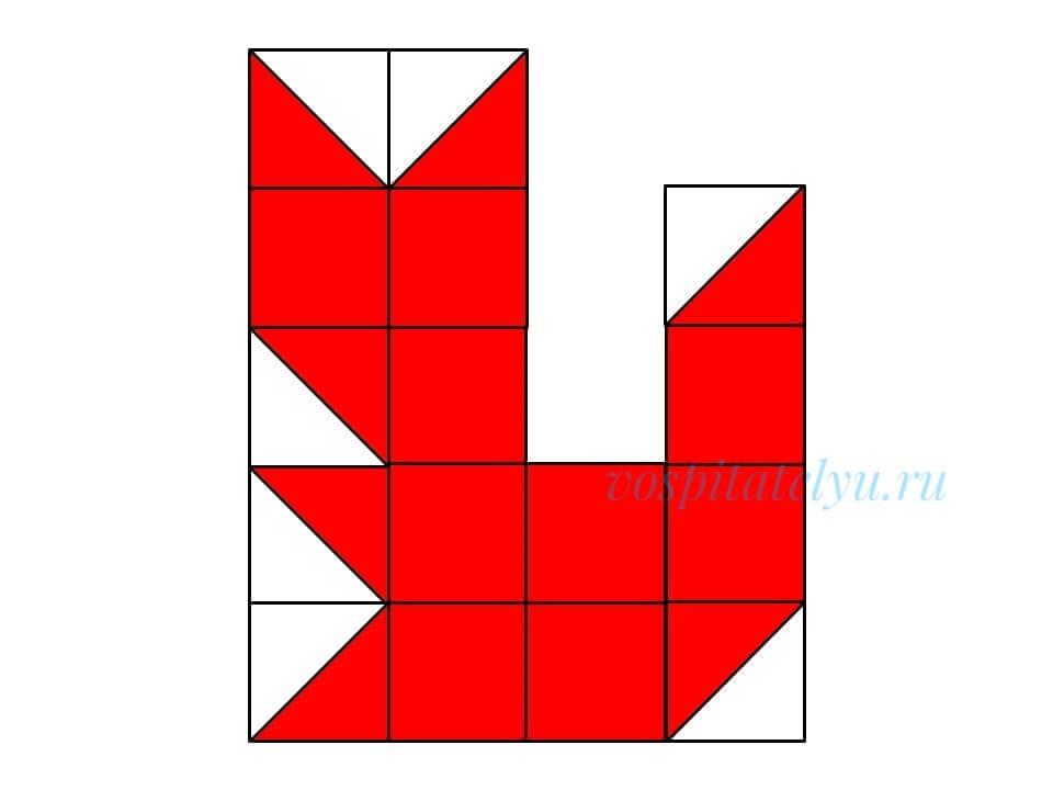 кубики Никитина. Схема белка