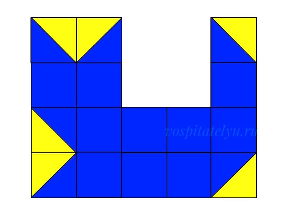 кубики Никитина. Схема кот